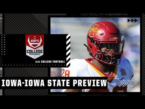 Previewing Iowa vs. Iowa State | College Football Countdown