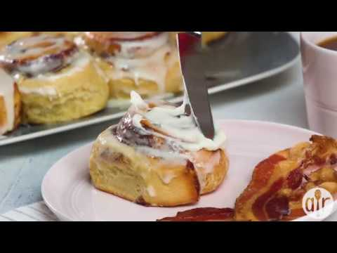 The Perfect Cinnamon Roll Icing | Breakfast & Brunch | Allrecipes.com