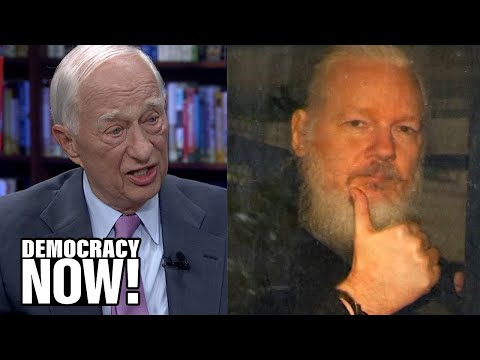 """Julian Assange Indictment """"Criminalizes the News Gathering Process,"""" Says Pentagon Papers Lawyer"""