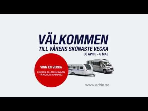 Adria Week 30 april till 6 maj över hela Sverige!