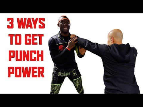 3 Exercises to Increase Your Punching Power | Kickboxing   Self Defence