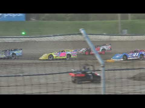 Circle City Raceway   7/18/21   Indiana Late Model Series   Feature - dirt track racing video image