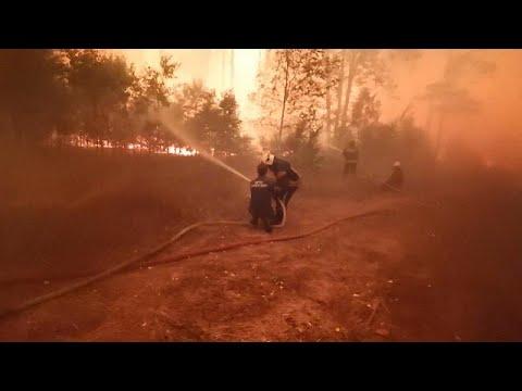 No comment: Csapdába került orosz tűzoltók