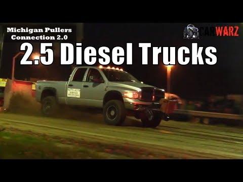 2.5 Diesel Truck Class At TTPA Truck Pulls In Port Hope MI 2018