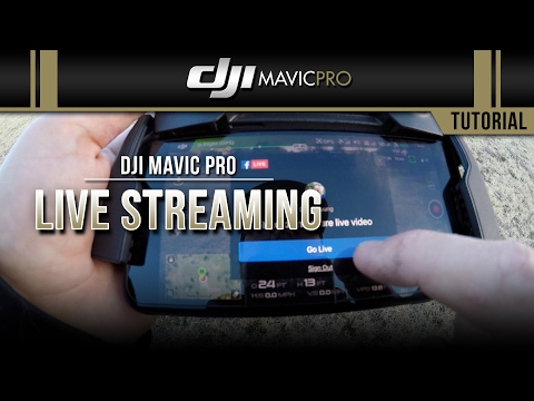 DJI Mavic Pro - Livestream Test Via DJI Go App on iPhone 6 | FpvRacer lt