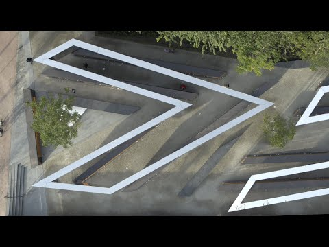 Short film offers tour of Dutch Holocaust Memorial of Names by Studio Libeskind