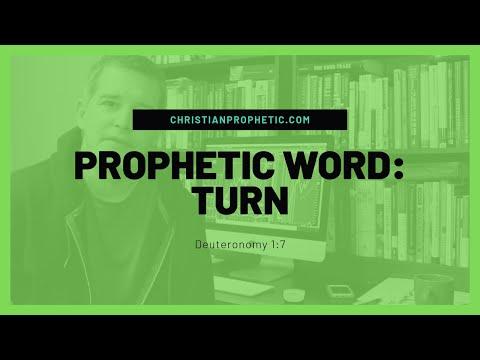 Prophetic Word: TURN