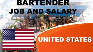 Bartender Salary in the United States - Jobs and Wages in the United States