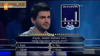 Kim Milyoner Olmak ister Onur Güven 201. Bölüm 05.04.2013
