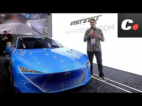 MWC 2017 | Peugeot Instinct Concept | Lo mejor del Mobile World Congress | Coches.net