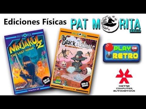 Ediciones fisicas Black & White / Ninjakul 2 (Pat Morita) Matra Computer Automations - Play On Retro