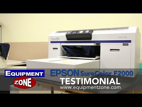 Epson SureColor F2000 Testimonial: Left-Tees - Derry, NH
