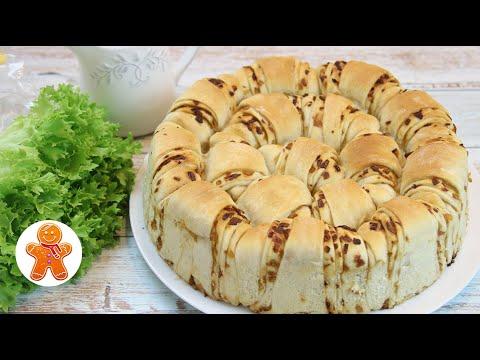 Простой Рецепт Красивого Пирога ✧ Постный Пирог ЛУКОВНИК на Рисовом Отваре