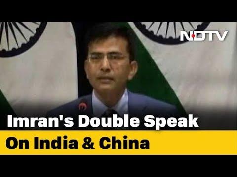 """He Is Desperate"": India Slams Imran Khan For Raising Kashmir At Davos"