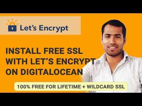 FREE SSL Certificate using Let's Encrypt certbot on DigitalOcean VPS