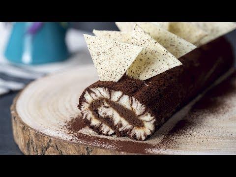 Chocolate Mocha Hurricane Swiss Roll