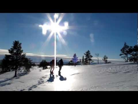 Snöskor i Skuleskogen / Snowshoes in Skule National Park (1/4).MOV