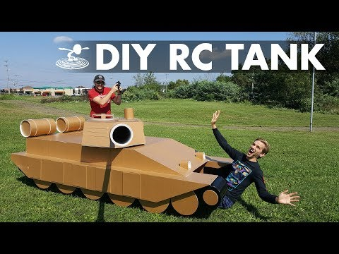 How to Build a Giant 12-Foot RC Tank! - UC9zTuyWffK9ckEz1216noAw
