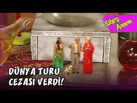 Betüş, Dudu ve Eda'ya Dünya Turu Cezası Verdi! - Sihirli Annem 10.Bölüm