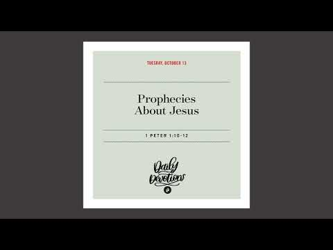 Prophecies About Jesus  Daily Devotional