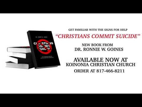 Christians Commit Suicide