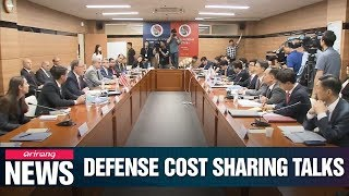 Chiefs of S. Korea-U.S. defense cost sharing talks meet in Seoul on Tuesday