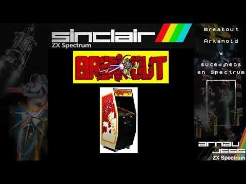 Breakout, Arkanoid y sucedáneos en Zx Spectrum