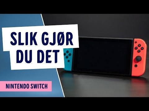 Hvordan bruke begge Joy-Con kontrollene på Nintendo Switch