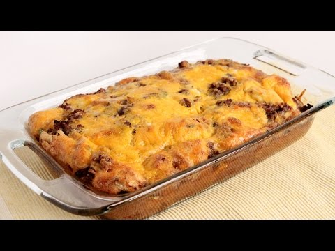 Breakfast Casserole Recipe - Laura Vitale - Laura in the Kitchen Episode 1001 - UCNbngWUqL2eqRw12yAwcICg