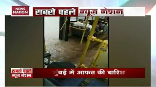Watch: Bus half-submerged in water carrying passengers in Mumbai