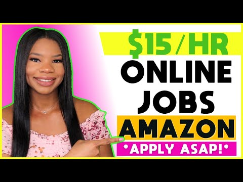 🏃🏽‍♀️*HURRY!* Amazon is Hiring Part-Time!! Online Work-From-Home Jobs. FREE Equipment Provided!! 💻