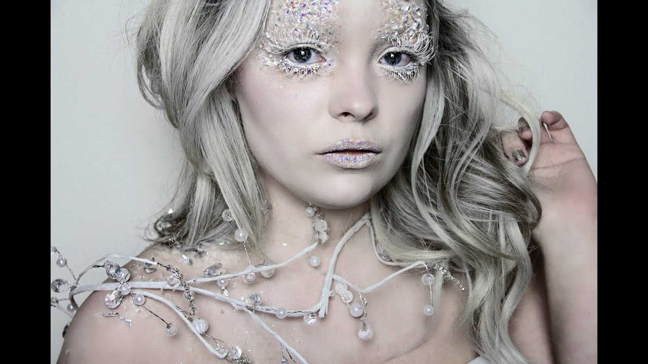 Ice queen makeup tutorial narnias white witch audiomania baditri Choice Image