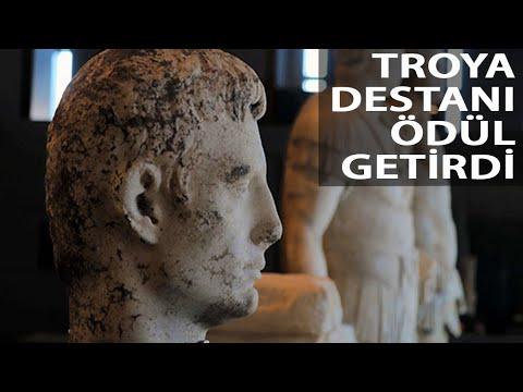 Troya Destanı, Avrupa Yılın Müzesi Özel Ödülü'nü Getirdi