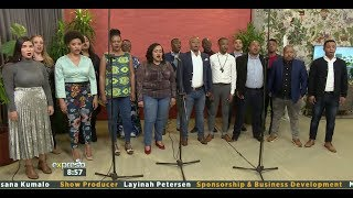"""Cape Town Opera Chorus Performs """"Wade in the Water"""""""