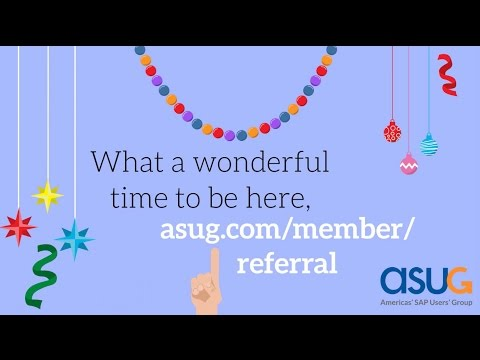 It's Time to Refer a Friend | ASUG