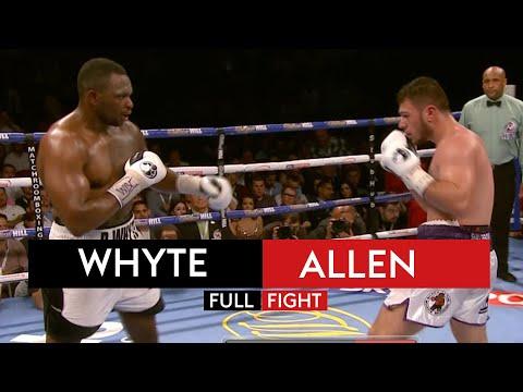 FIGHT REWIND! Dillian Whyte vs Dave Allen 7