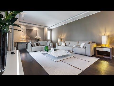 Interior design of a private residence in Monte-Carlo, Monaco
