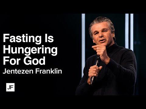 Fasting is Hungering For God  Jentezen Franklin