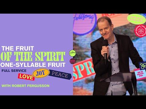 One Syllable Fruit  Robert Fergusson  Hillsong Church Online