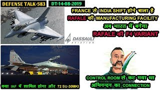 Indian Defence News:Rafale F4 manufacturing In India,More 72 SU-30mki For IAF,Some Myth abt Rafale