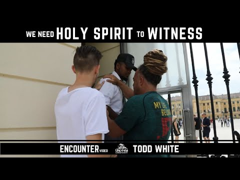 Todd White - We need Holy Spirit to Witness