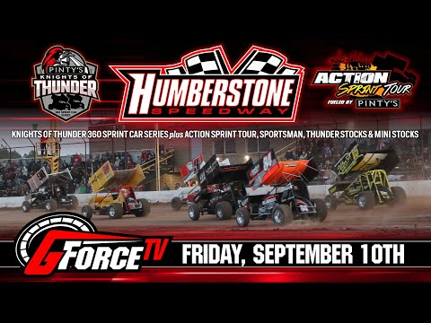 09/10/2021 | Humberstone Speedway | Pinty's Knights of Thunder - dirt track racing video image