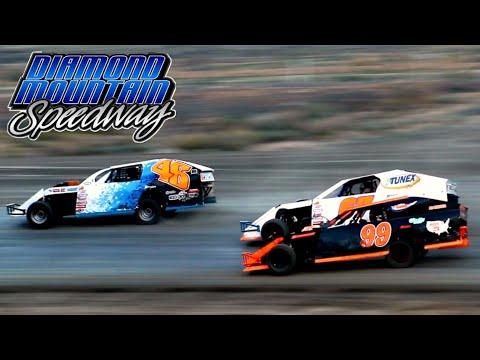 Diamond Mountain Speedway IMCA Modified Main Event 8/21/21 - dirt track racing video image