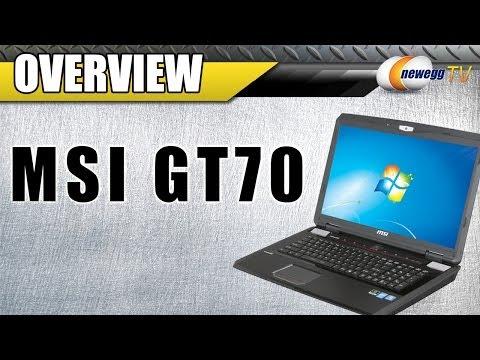 "MSI GT Series GT70 Intel Core i7 4700MQ 1TB HDD 17.3"" Notebook Overview - Newegg TV - UCJ1rSlahM7TYWGxEscL0g7Q"