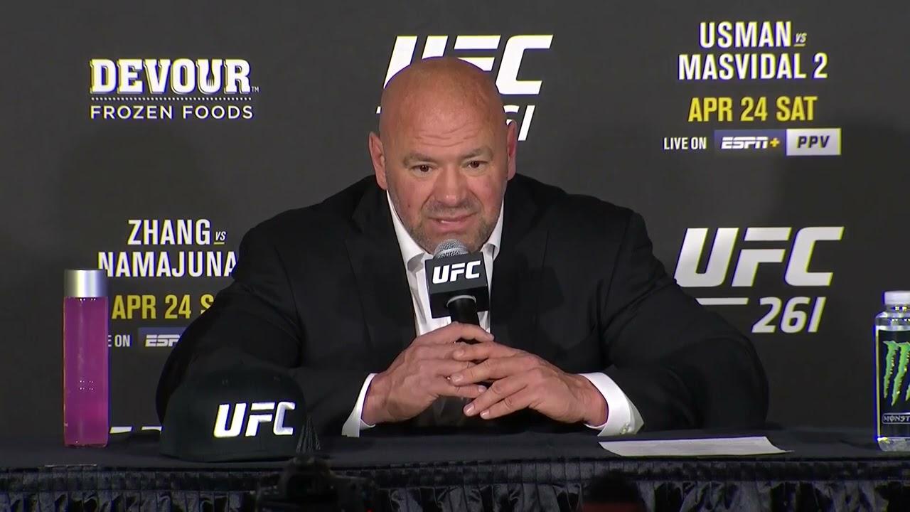 UFC 261: Dana White Post-fight Reaction