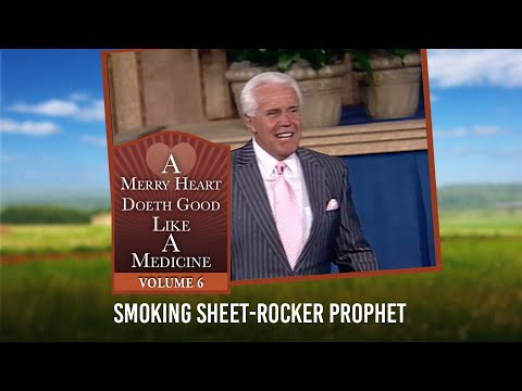 Merry Heart: Smoking Sheet-Rocker Prophet  Jesse Duplantis