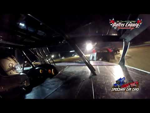 #32 Joe Francis - Midwest Mods - 6-18-2021 Dallas County Speedway - In Car Camera - dirt track racing video image