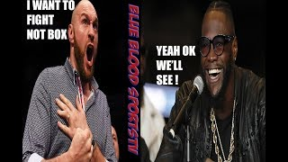 BREAKING NEWS: (MUST WATCH) WILDER GET'S KNOCKED OUT NEXT TIME, NO BOXING SAY'S FURY !