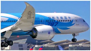 [4K] CHINA SOUTHERN AIRLINES BOEING 787-9 DREAMLINER LAX ARRIVAL - PLANE SPOTTING - JUNE 2019