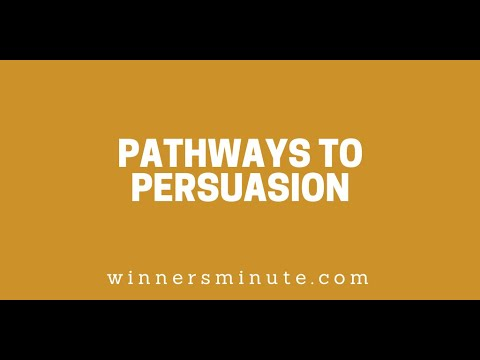 Pathways to Persuasion // The Winner's Minute With Mac Hammond